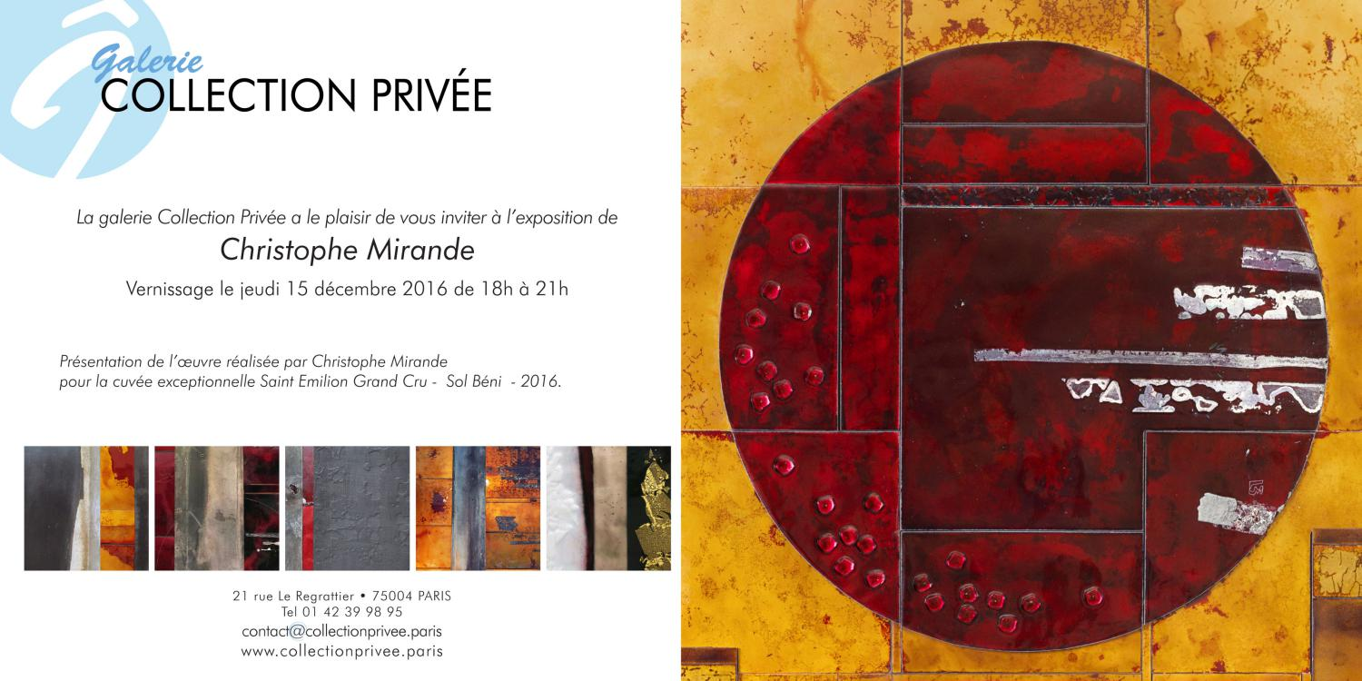 Galerie Collection Privée Paris 2016